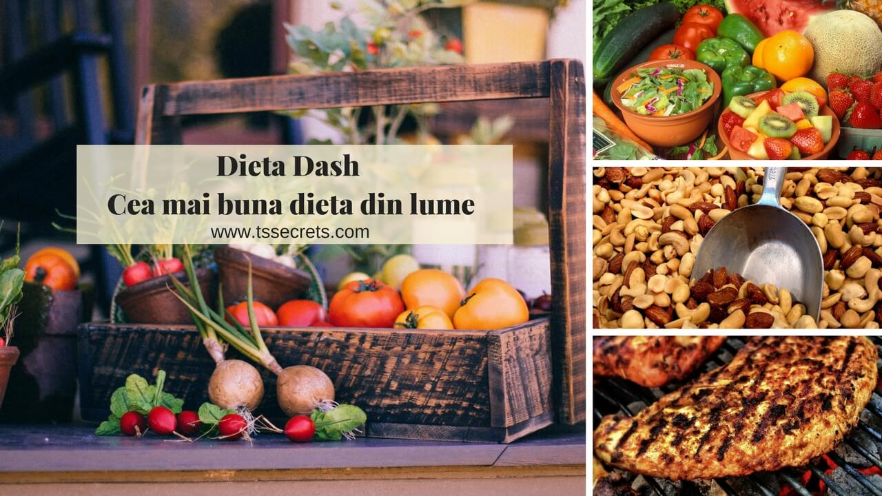 Dieta Dash - Cea mai buna dieta din lume - T's Secrets